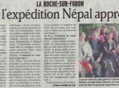 Caf : l'expédition Népal approche